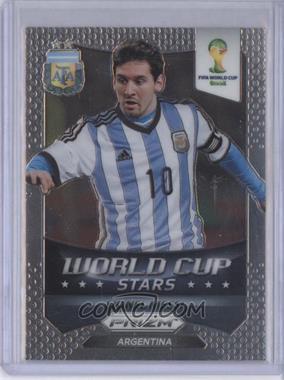 2014 Panini Prizm World Cup Stars #1 - Lionel Messi