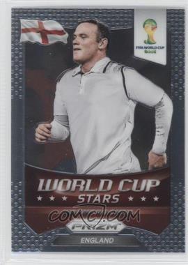 2014 Panini Prizm World Cup Stars #14 - Wayne Rooney