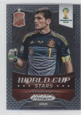 2014 Panini Prizm World Cup Stars #33 - Iker Casillas