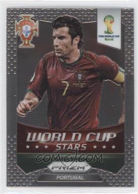 2014 Panini Prizm World Cup Stars #49 - Luis Figo