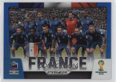 2014 Panini Prizm World Cup Team Photos Blue Prizms #14 - France /199