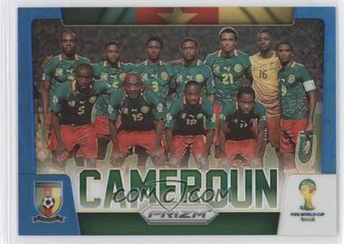 2014 Panini Prizm World Cup Team Photos Blue Prizms #7 - Cameroon /199