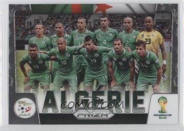 2014 Panini Prizm World Cup Team Photos #1 - Algeria