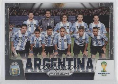 2014 Panini Prizm World Cup Team Photos #2 - Argentina