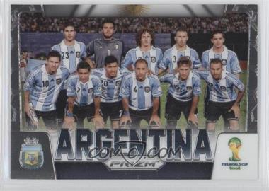 2014 Panini Prizm World Cup Team Photos #2 - Argentina
