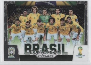 2014 Panini Prizm World Cup Team Photos #6 - Brasil