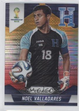 2014 Panini Prizm World Cup Yellow & Red Pulsar Prizms #113 - Noel Valladares