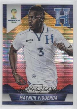 2014 Panini Prizm World Cup Yellow & Red Pulsar Prizms #114 - Maynor Figueroa