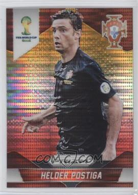 2014 Panini Prizm World Cup Yellow & Red Pulsar Prizms #160 - Helder Postiga