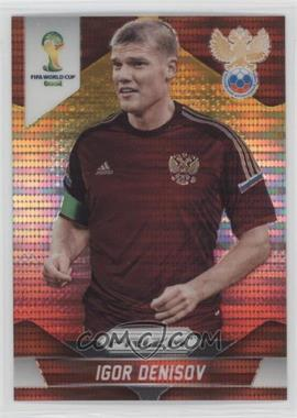 2014 Panini Prizm World Cup Yellow & Red Pulsar Prizms #166 - Igor Denisov