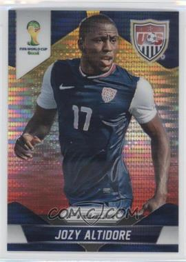 2014 Panini Prizm World Cup Yellow & Red Pulsar Prizms #71 - Jozy Altidore