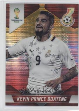 2014 Panini Prizm World Cup Yellow & Red Pulsar Prizms #97 - Kevin-Prince Boateng