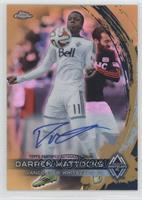 Darren Mattocks /50