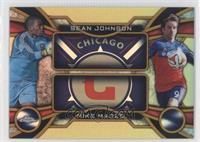 Sean Johnson, Mike Magee /50