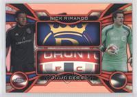 Nick Rimando, Julio Cesar /25
