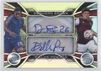 Deshorn Brown, Dillon Powers /25
