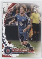 Mike Magee blue jersey