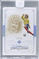 Legends - Carlos Valderrama /20 [ENCASED]