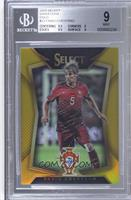 Fabio Coentrao (Ball Back Photo Variation) /10 [BGS 9]