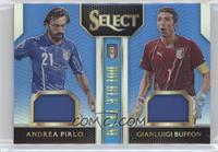 Andrea Pirlo, Gianluigi Buffon /99