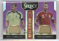 Iker Casillas, Sergio Ramos /25