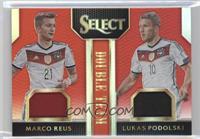 Lukas Podolski, Marco Reus /49