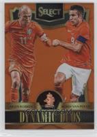 Arjen Robben, Robin van Persie /149