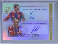 Arjen Robben, Philipp Lahm /10