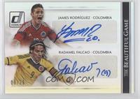 Radamel Falcao, James Rodriguez /25