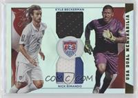 Kyle Beckerman, Nick Rimando /25