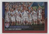 U.S. Ends Cup Drought