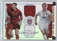 Carli Lloyd, Hope Solo /99