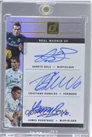 Cristiano Ronaldo, Gareth Bale, James Rodriguez /25