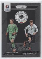 Manuel Neuer, Thomas Muller