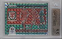 Aaron Ramsey, Wayne Hennessey, Gareth Bale /5 [BGS9.5]