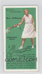 1936 Player's Cigarettes Tennis - Tobacco [Base] #11 - Mrs. O'Meara (Forehand Drive)