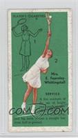 E.F. Whittingstall (Service)