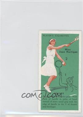 1936 Player's Cigarettes Tennis Tobacco [Base] #1 - [Missing]