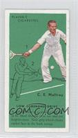 C.E Malfroy (Low Forehand Drive)