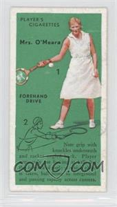 1936 Player's Cigarettes Tennis Tobacco [Base] #11 - Forehand Drive