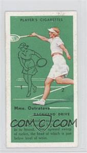 1936 Player's Cigarettes Tennis Tobacco [Base] #22 - Backhand Drive