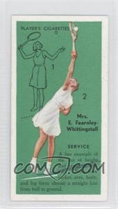 1936 Player's Cigarettes Tennis Tobacco [Base] #3 - [Missing]
