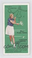 Miss Freda James (Forehand Volley) [GoodtoVG‑EX]