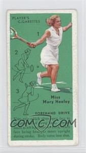 1936 Player's Cigarettes Tennis Tobacco [Base] #6 - Forehand Drive [Good to VG‑EX]