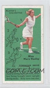 1936 Player's Cigarettes Tennis Tobacco [Base] #6 - Miss Mary Heeley (Forehand Drive)