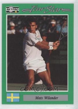 1991 NetPro Tour Stars #92 - Mats Wilander