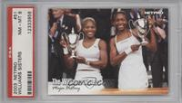 The Williams Sisters (Serena Williams, Venus Williams) [PSA 8]