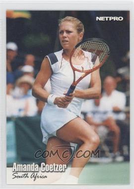 2003 NetPro Gold #G-58 - Amanda Coetzer