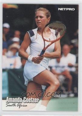 2003 NetPro #58 - Amanda Coetzer