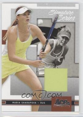 2005 Ace Authentic Signature Series [???] #4 - Maria Sharapova /500